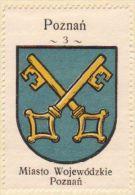 Werbemarke (Reklamemarke, Cinderella), Kawa Hag Polski : Poznań (2)  (Herb, Wappen, Arms, Blason) - Tea & Coffee Manufacturers