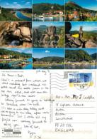 Sachsischen Schweiz, Germany Postcard Posted 2011 ATM Meter - Allemagne