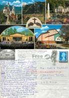 #1, Oberammergau, Germany Postcard Posted 2010 Stamp - Oberammergau