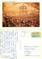 Oktoberfest, Munchen, Germany Postcard Posted 1985 ATM Meter - Muenchen