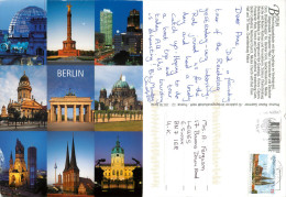 Berlin, Germany Postcard Posted 2012 Stamp - Mitte