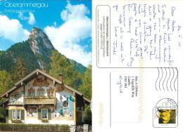 Oberammergau, Germany Postcard Posted 2010 Stamp - Oberammergau