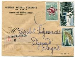 7 Env. De FIANARANTSOA De 1960 Et 1963 ( 4 Scans) - Madagascar (1960-...)