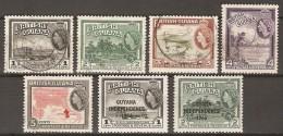 GUYANE   Britannique     -    L O T   QE  II     -    Oblitérés. - British Guiana (...-1966)