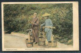 Native Water Carrier / Hong Kong Pictorial Postcard Company - Cina (Hong Kong)