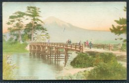 Japan Ka Abashi Bridge Name Postcard - Japan