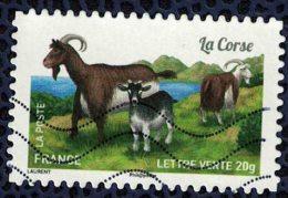 France 2015 Oblitéré Used Stamp Goat Chèvre La Corse Y&T 1107 - France