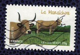 France 2014 Oblitéré Used Stamp Vache Cow La Maraîchine Y&T 956 - France