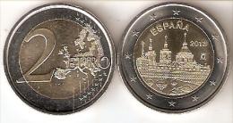 MONEDA DE ESPAÑA DE 2 EUROS DEL AÑO 2013 MONASTERIO DEL ESCORIAL -UNCIRCULATED - España