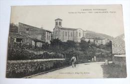 L ARDECHE PITTORESQUE - VALLEE DE L EYRIEUX - 553 - LES OLLIERES - L EGLISE - Autres Communes