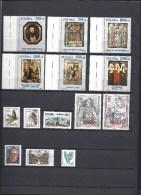 Joli Lot De 50 Timbres Dont 1 Bloc - POLOGNE Tous De 1991 (Polska) - Neuf  - Voir Scan - Unused Stamps