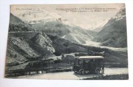 SERVICE D AUTOMOBILES DU BOURG D OISANS AU LAUTARET - LA VALLEE D ARSINE - 976 - DAUPHINE - Bourg-d'Oisans