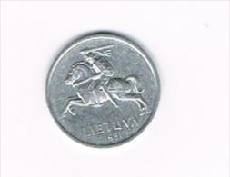 1 Centas 1991 - Lituanie