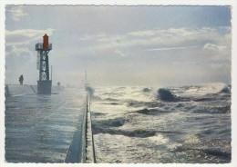 76 - Le Havre          Tempête Sur La Digue Nord - Port