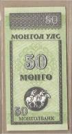 Mongolia - Banconota Non Circolata Da 50 Mongo  - 1993 - Mongolia