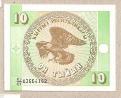 Kirghizistan - Banconota Non Circolata Da 10 Tyiyn - 1999 - Kirghizistan