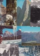 8 CART. MONTAGNA - Cartoline
