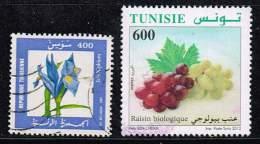 Tunesien 1987/ 2012, Michel# 1162 + 1786 O - Tunesië (1956-...)