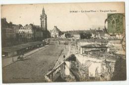 Douai (59.Nord) La Grande Place - Douai