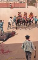 Corrida Bull Fight Arrastre Del Toro