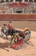 Corrida Bull Fight Caida De Un Picador