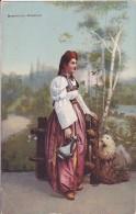 BiH553  --  BOSNISCHES MADCHEN   --  COSTUME NATIONAL    --  FIRMA L & W, TUZLA 1914 - Bosnia Erzegovina