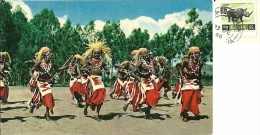 KENYA  KENIA  Watutsi Dancers Nice Stamp Rhino - Kenia