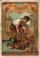 Le Tanneur  - Belle Illustration Style Art Déco - Craft
