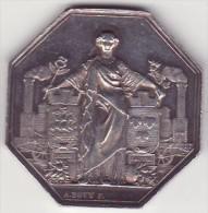 France - Chemin De Fer - Paris - Orléans - Jeton Argent -1838 - A. Bovy - France