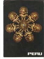 5k. America PERU - Tumis de oro - Cultura Chimu - Golden Tumis - Chimu culture 1978