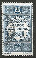 MAROC COLIS POSTAUX N� 4  OBL