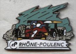 Pin´s Démons Et Merveilles - F1 Formule 1 Formula One Rhône-Poulenc - F1