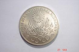 Allemagne Argent 625/1000 15,5grs - XX Olympiade 1972 - Etat TTB+. - [11] Collections