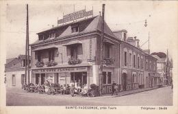 Cpa-37-ste Radegonde-animée-hotel La Cote Fleurie-photo Maupuis - Tours