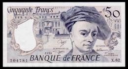 France 50 Francs 1990 AUNC - 1962-1997 ''Francs''