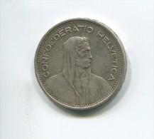 5 Francs Suisse  1932 Berne - Svizzera