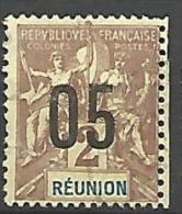 REUNION  N°  72  OBL - Réunion (1852-1975)