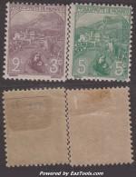 Orphelin De 1919: 2c Et 5c Neuf * TB (Y&T N° 27 Et 28, Cote: 70€) - Ungebraucht