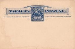 NICARAGUA 1882 - 3 Centavos ** Ganzsache Auf Pk Ungelaufen - Nicaragua