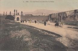 FEZ -  Une Des Portes Du Jardin D'été Du Sultan - Fez