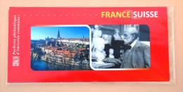 """France émission Commune De 2009 """"France-Suisse"""" Avec Timbres """"René De Saint-Marceaux"""" (sous Blister Fermé) - Emissions Communes"""