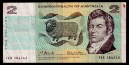 Australia 2 Dollars 1966 P.38a F - Decimaal Stelsel Overheidsuitgave 1966-...