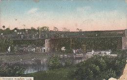 Amérique - Antilles - West Indies - Sainte Lucie Santa Lucia - Troumassie Bridge - 1915 - Sainte-Lucie