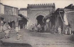 Maroc - Marrakech - Porte Bab Khmich - Marrakesh