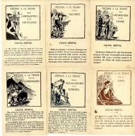 PRETONS A LA FRANCE  CALCUL MENTAL  RECONSTRUCTION  USINES CHARBONNAGES CHANGE AMENAGEMENT CULTURES  6 CARTES DIVERSES - Oorlog 1914-18