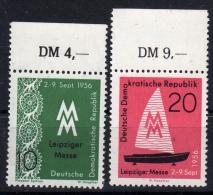 DDR 536-537 ** Oberrand - [6] République Démocratique