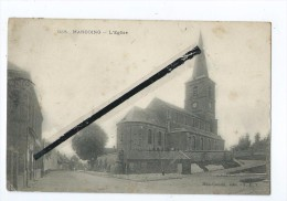 CPA Très Tachée  - Marcoing - L'Eglise - Marcoing