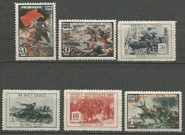 RUSSIE  N� 977 / 982 NEUF*  CHARNIERE / MH