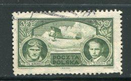 POLOGNE- Y&T N°364- Oblitéré - 1919-1939 Republic