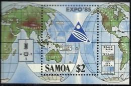 Samoa 1985 Yvertnr. Bloc 34 *** MNH Cote 4,00 Euro - Samoa